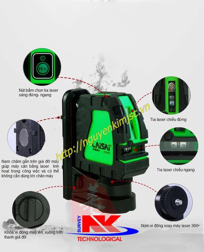 Đặc điểm máy cân bằng Laser